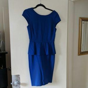Royal Blue Banana Republic Dress GUC Size 4